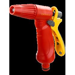 Распылитель GRINDA поливочный пластиковый, тип пистолетный, регулируемое сопло / 8-427361